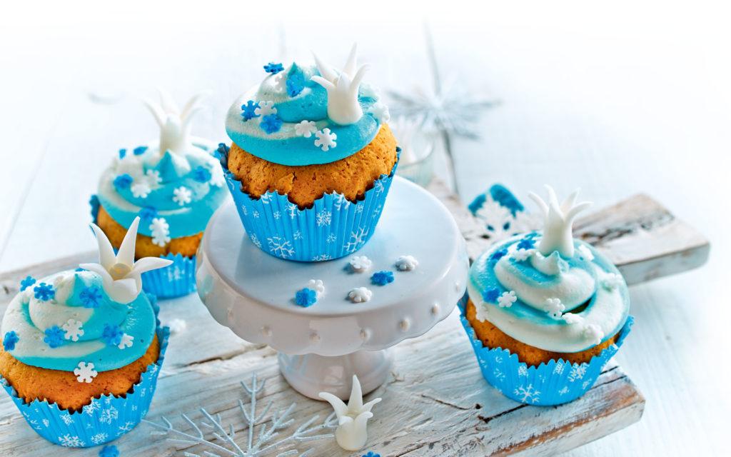 RUF Eisprinzessinnen Cup Cakes