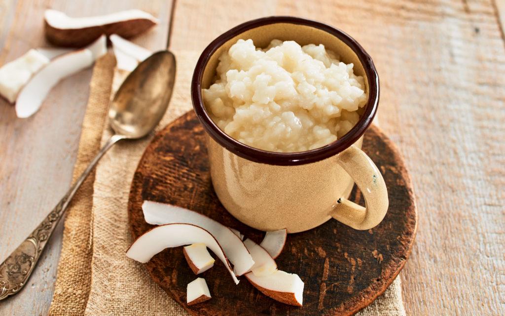 Instant Kokos-Reis im Portionsbeutel