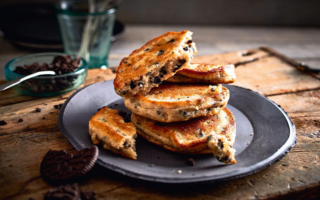 Protein Pancakes Black Cookie