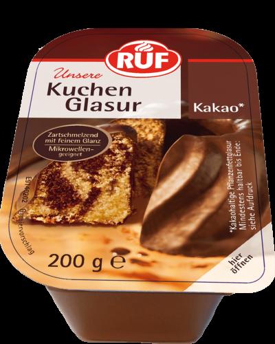 Kuchenglasur Kakao 200 G Ruf Lebensmittel