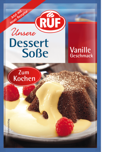 Vanilla-Flavoured Cooking Dessert Sauce