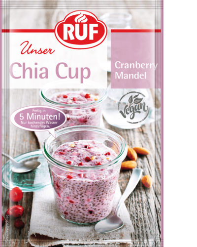 Cranberry and Almond Chia Cup