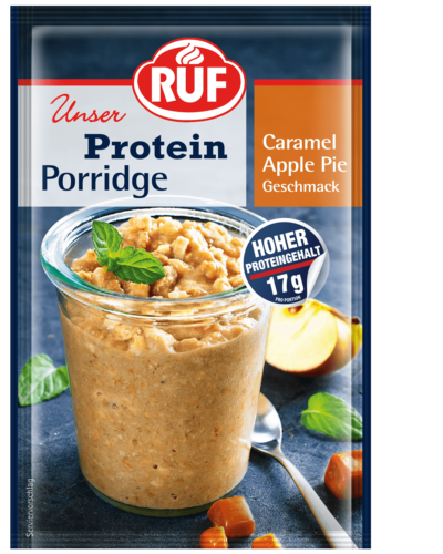 Caramel Apple Pie Protein Porridge