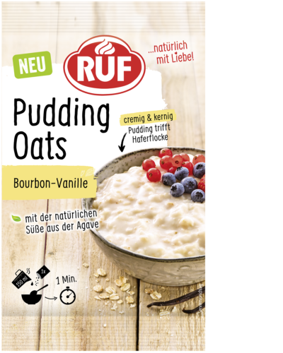 Pudding Oats Bourbon-Vanille