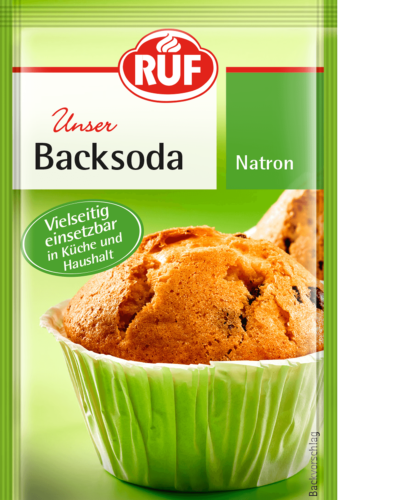 Baking Soda – Pure Sodium Bicarbonate – RUF Lebensmittel