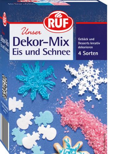 Ice and Snow Decoration Mix