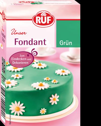 Fondant Grun Ruf Lebensmittel