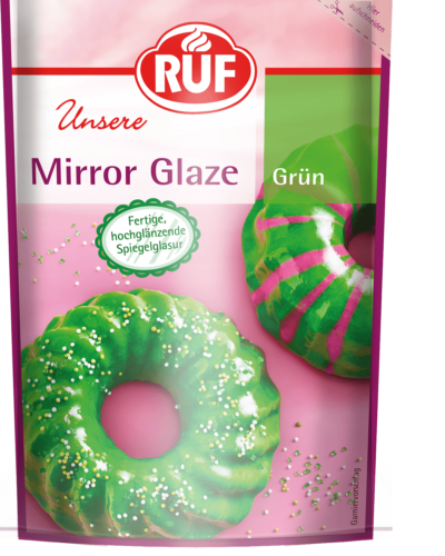 Green Mirror Glaze