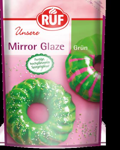 Mirror Glaze Grun Ruf Lebensmittel