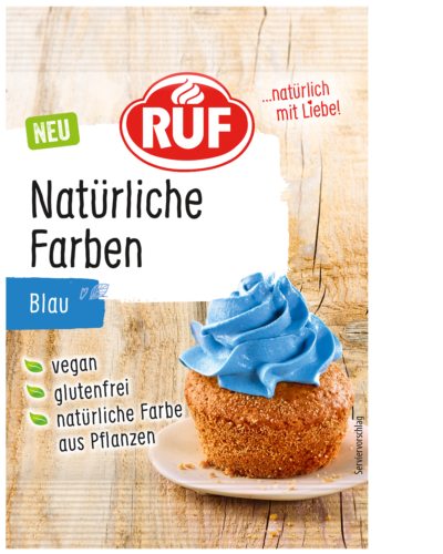 Natural food colouring – Blue