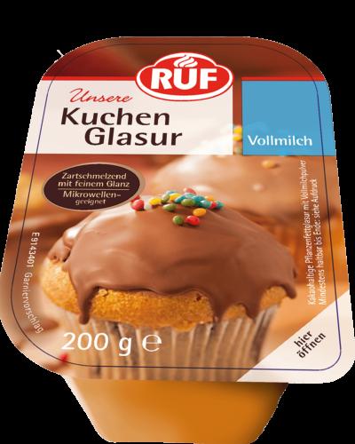 Kuchen Glasur Vollmilch 200 G Ruf Lebensmittel