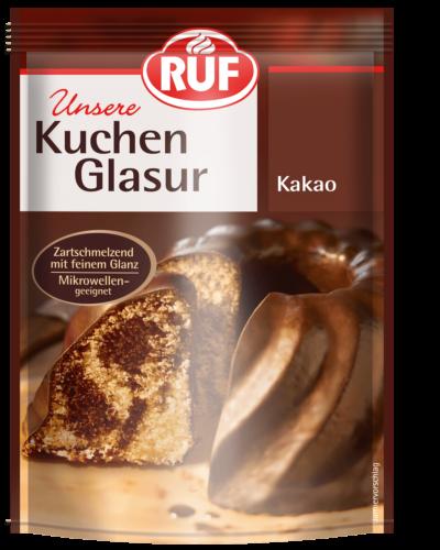 Kuchenglasur Kakao 100 G Ruf Lebensmittel