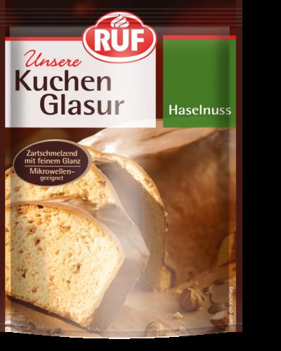 Kuchenglasur Haselnuss 100 G Ruf Lebensmittel