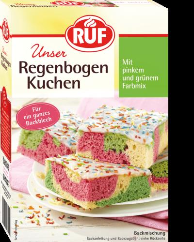Regenbogenkuchen Ruf Lebensmittel