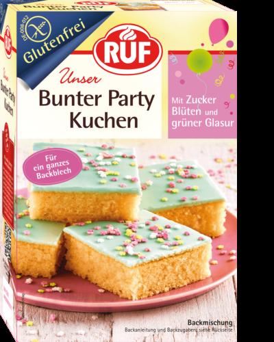 Bunter Party Kuchen Glutenfrei Ruf Lebensmittel