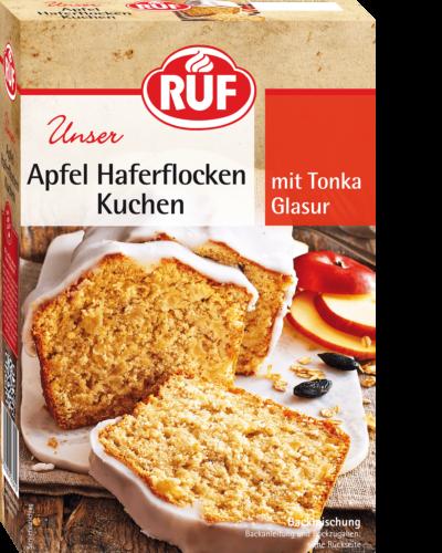 Apfel Haferflocken Kuchen Ruf Lebensmittel