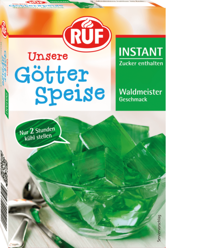 Instant Woodruff-flavoured Jelly