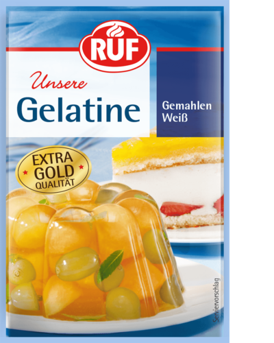 Powdered Gelatine, white