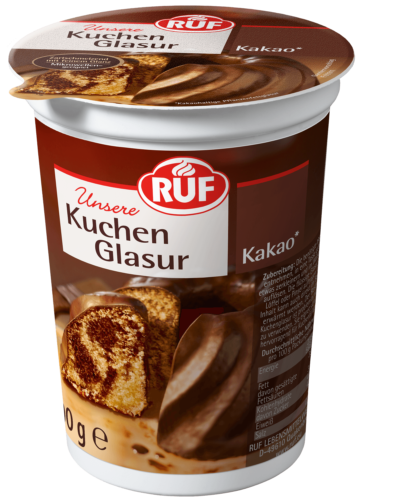 Kuchenglasur Kakao 500 G Ruf Lebensmittel