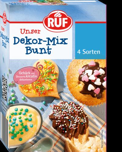 Dekor Mix Bunt Ruf Lebensmittel