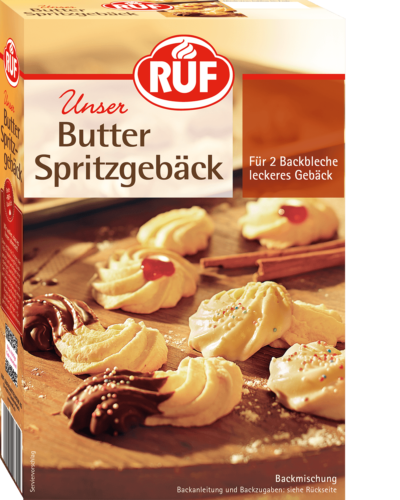 Butter Spritz Biscuits