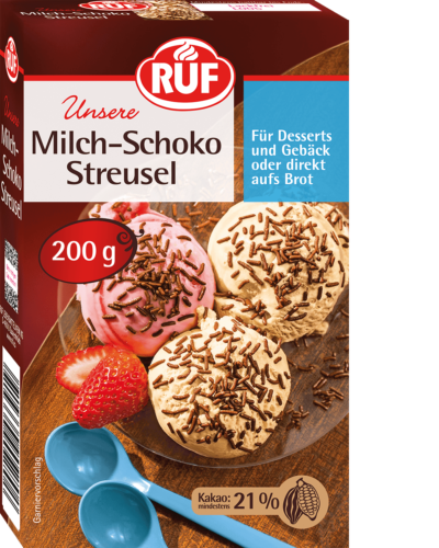 Milch-Schoko Streusel